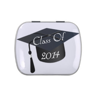 Class Of 2014 Graduation Cap Jelly Belly Tin