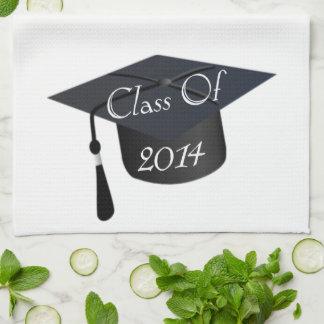Class Of 2014 Graduation Cap Hand Towels