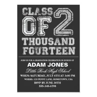"Class of 2014 Graduation Party Invitations 5"" X 7"" Invitation Card"
