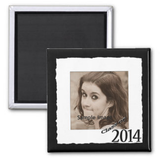 Class of 2014 Graduation Photo Make Your Own Square Magnet