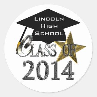Class Of 2014 Graduation Seal / Stickers