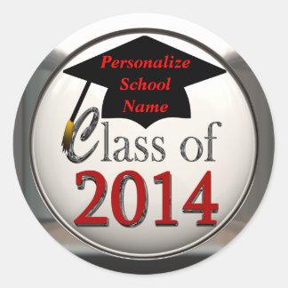 Class Of 2014 Graduation Stickers