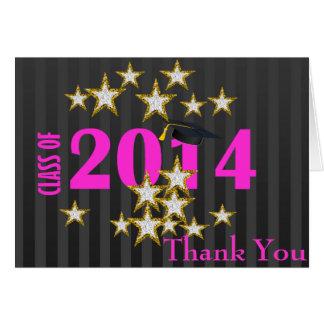 Class of 2014 Graduation Thank You Card