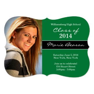 Class of 2014 Green Graduation Invitation