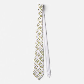 Class Of 2014 In Gold & White, Or Change, Grad Tie