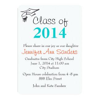 Class of 2014 invitation