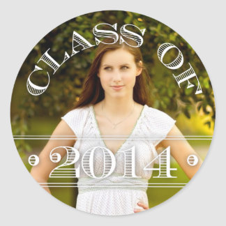 Class of 2014 Photo Graduation Sticker