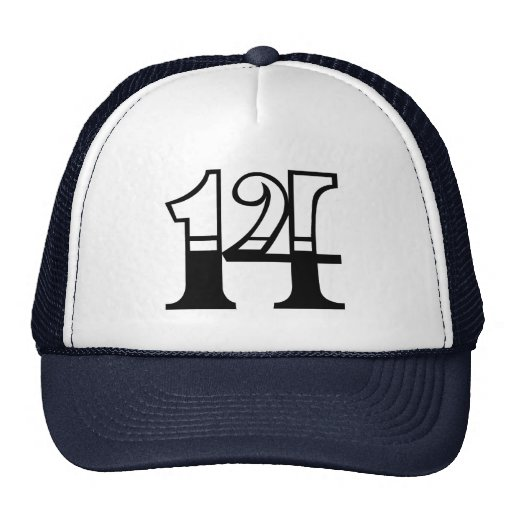 Class of 2014 text hat