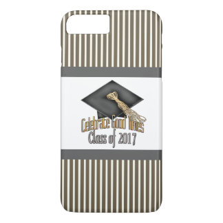 Class of 2017 Celebrate Good Times Graduation Gift iPhone 7 Plus Case