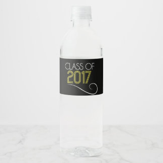 Class of 2017 Water Bottle Labels