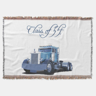 Class of 54 Throw Blanket