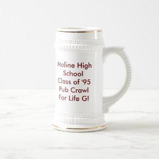 Class of '95 Pub Crawl For Life G! Coffee Mug