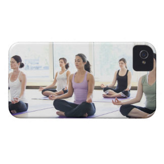 Class of women performing the meditative Case-Mate iPhone 4 case