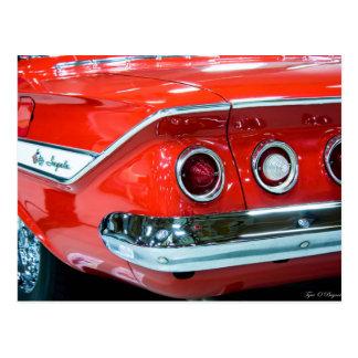 Classic 61 Chevy Impala Postcard