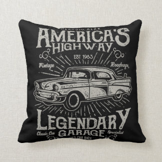Classic American Muscle Car | Hotrod's Highway Cushion