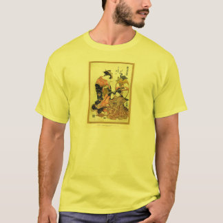 Classic Asian Art from Japan, Japanese ladies T-Shirt