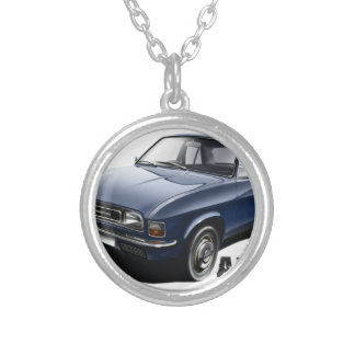 Classic Austin Allegro Silver Plated Necklace