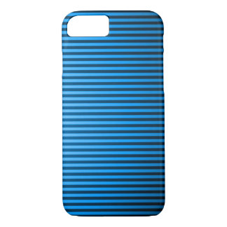 Classic Baby Blue Pinstripe iPhone 7 Case