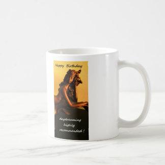 Classic Birthday Mug Daydreaming Mermaid