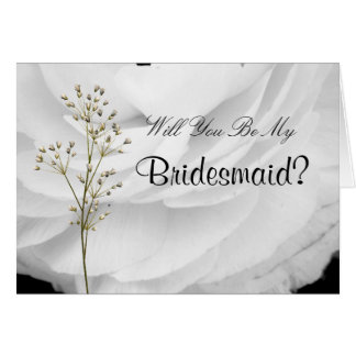 Classic Black and White Wedding Greeting Cards