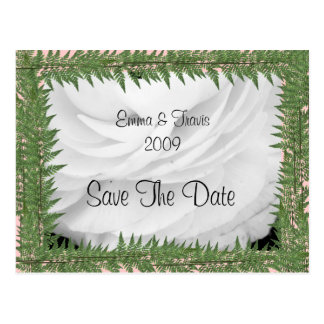 Classic Black and White Wedding Post Cards