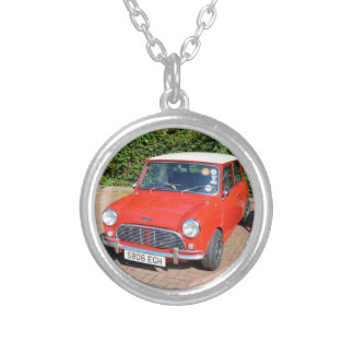 Classic British Austin Silver Plated Necklace