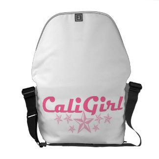 Classic CaliGirl Rickshaw Bag Messenger Bag