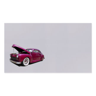 Classic car pack of standard business cards