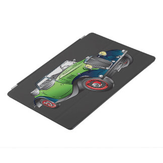 Classic Car Design iPad Cover