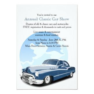 Classic Car Clubs Cards Invitations Zazzleconz - Classic car invitations