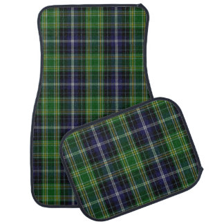 Classic Clan MacKellar Tartan Plaid Car Mat Set