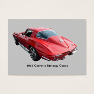 Classic Corvette Coupe Business Card