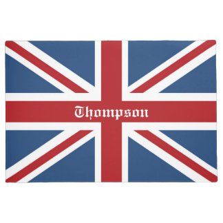 Classic Custom Union Jack UK Flag Doormat