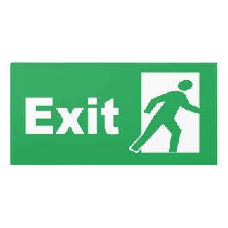 Classic Exit Sign