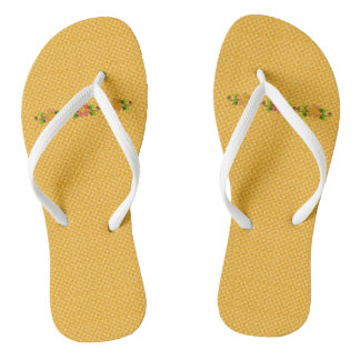 Classic-Gold-Plaid-Floral-Accent(C)Multi-Styles Jandals