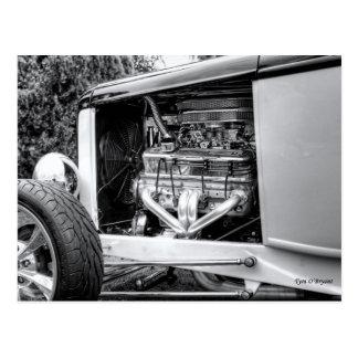Classic Hotrod Moter Postcard