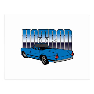 Classic Hotrod T-shirts Postcard