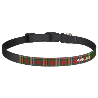 Classic MacGill Tartan Plaid Custom Dog Collar