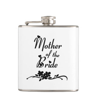 Classic Mother of the Bride Flasks