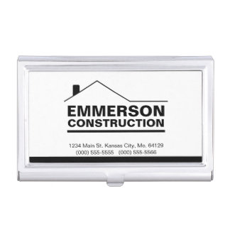 Classic Realtor-Construction-Handyman 2c Business Card Holder