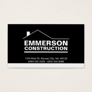Classic Realtor-Construction-Handyman 2d Business Card