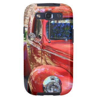 Classic Red Car Galaxy SIII Case