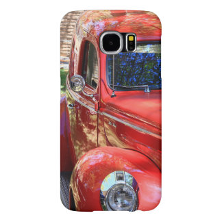 Classic Red Car Samsung Galaxy S6 Cases