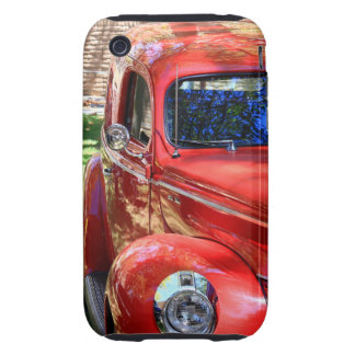 Classic Red Car Tough iPhone 3 Covers