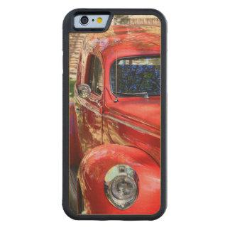Classic Red Car Maple iPhone 6 Bumper Case