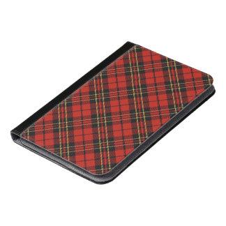 Classic Red Tartan iPad Mini Folio iPad Mini Case