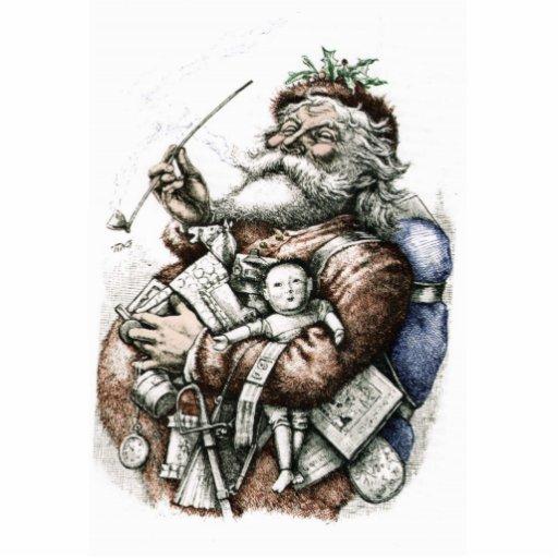 Classic Santa Ornament Cut Outs