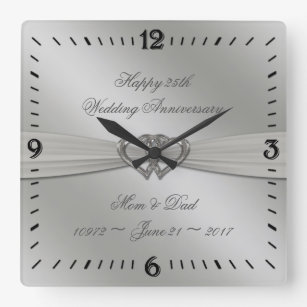 25th Wedding Anniversary Gifts Zazzle Co Nz
