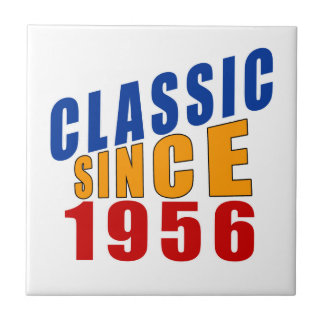 Classic Since 1956 Small Square Tile