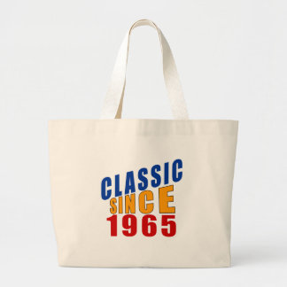 Classic Since 1965 Large Tote Bag